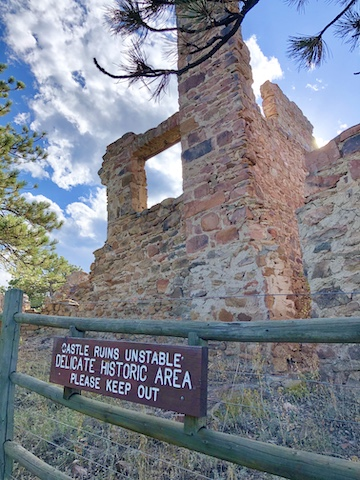 Castle Ruins Colorado